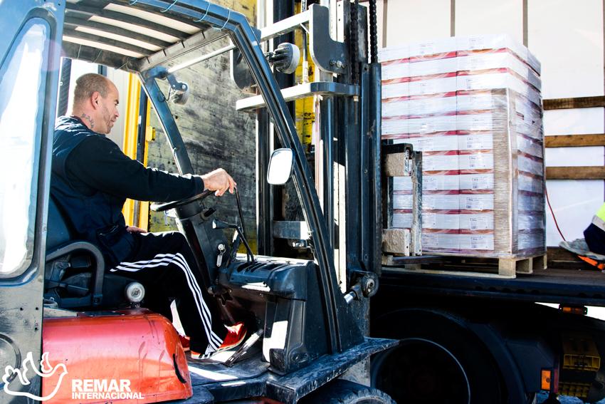 remar ong contenedores de ayuda humanitaria paises subdesarrollados