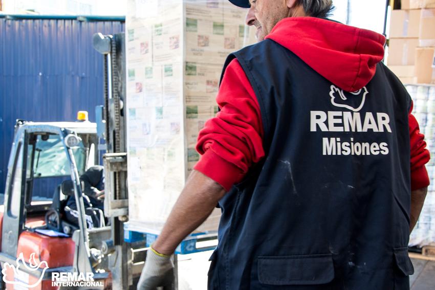 remar ong programa contenedores de ayuda humanitaria