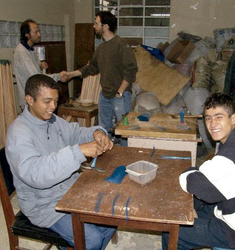 Centro de rehabilitacion de la ong remar en ecuador
