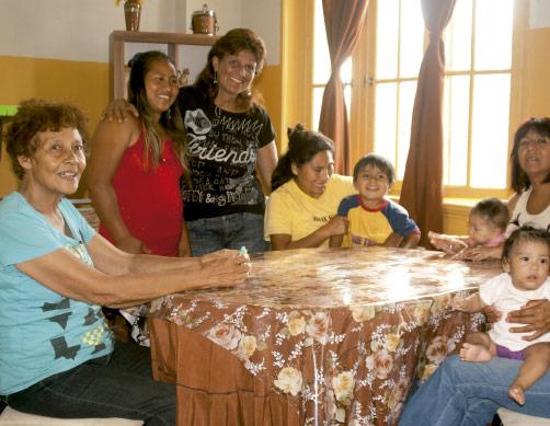 mujeres en hogar ong remar en peru