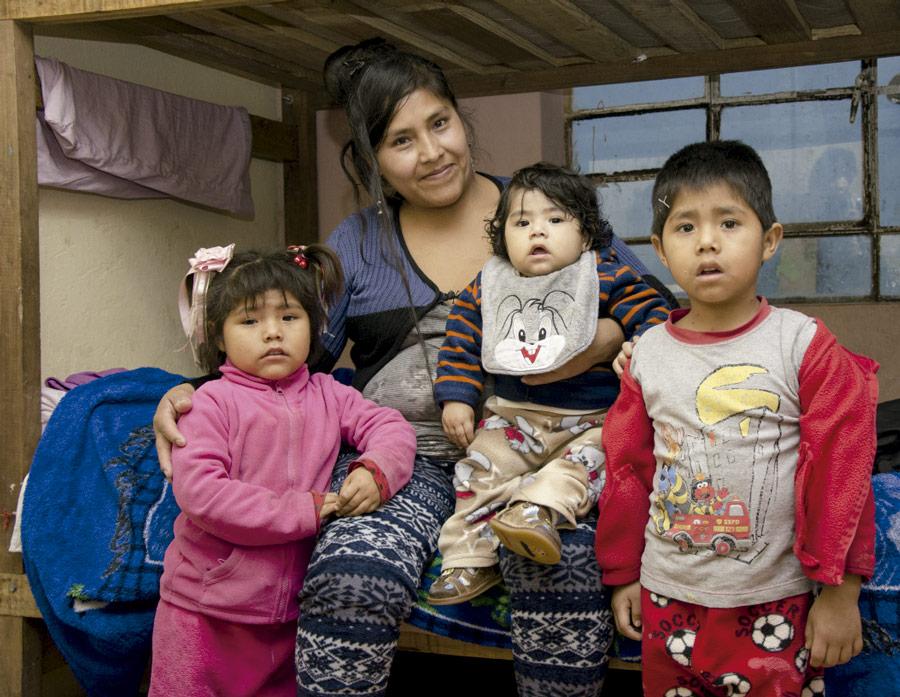 hogar para mujeres de la ong remar en peru